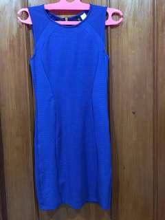Blue Bodycon Dress H&M