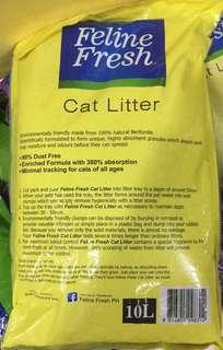 Feline fresh cat litter