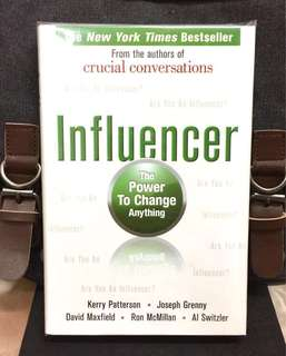 # Highly Recommended《Bran-New + Hardcover Edition + Powerful Ideas That Influence And Change The Heart , Minds and Behaviour》Influencer : The Power to Change Anything