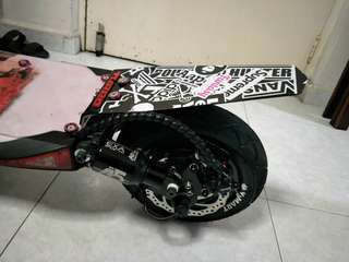 Custom Made E Scooter Acrylic Mudguard
