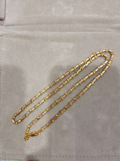 916 Gold Necklace brand new bought it at Citi Gems.. NO TRADE