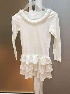 Seed white dress