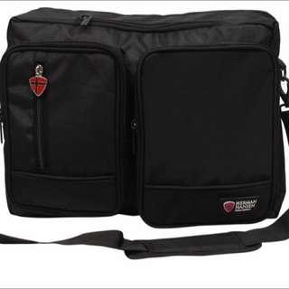 HERMAN HANSEN 3-in -1 Laptop Bag With Backpack Option