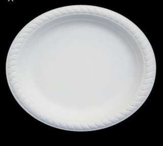 Corn starch paper plate from snr
