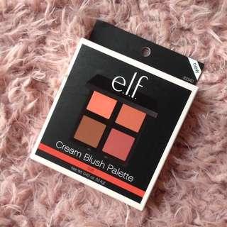 Readystock ELF Cream Blush Palette
