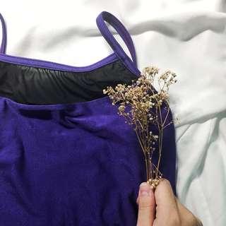 Sonata Mesh Purple Leotard <Trades ok!>