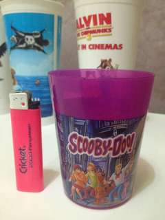 Scooby do plastic cup