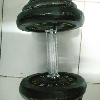 Dumbell 20kg #lsprcampus