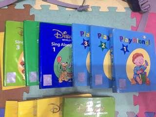 迪士尼美語世界 (全套) (無Fun with word 書,  ❌點讀筆、無Play along 玩具、欠一隻basic ABC) 6b cd)
