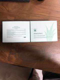 2 x Innisfree aloe revital special kit