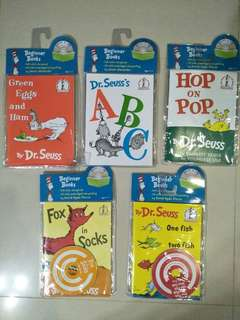 Dr Seuss Beginner Books with CD