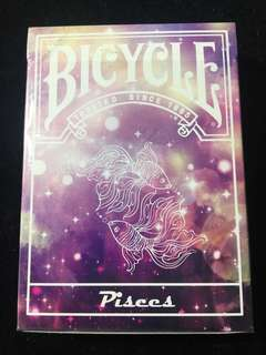 Bicycle Pisccs Playing Cards 雙魚座