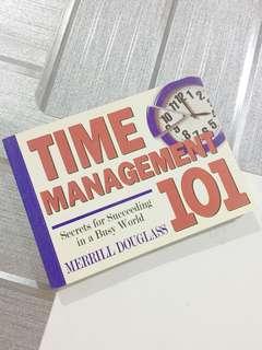 Time Management 101 pocketbook