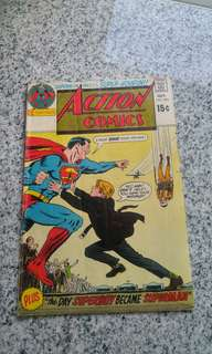 Vintage DC comics Action Comics