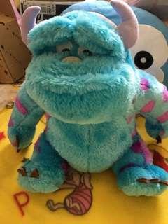 迪士尼 怪獸大學 毛怪 玩偶