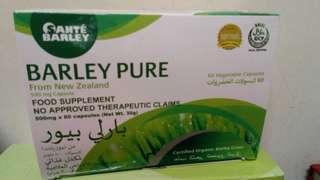 Barley food supplements