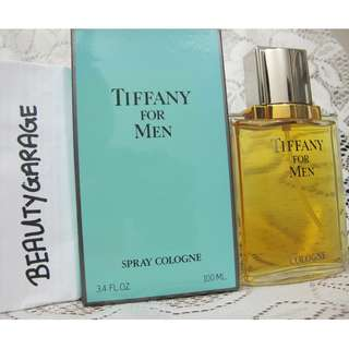 RARE VINTAGE TIFFANY COLOGNE 100ml Men Perfume New with box !