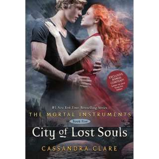 B&N Exclusive First Edition - City of Lost Souls by Cassandra Clare