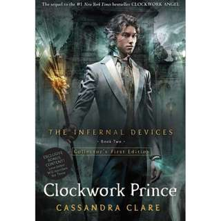 B&N Exclusive First Edition - Clockwork Prince by Cassandra Clare