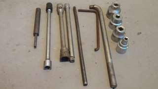 Tools set G