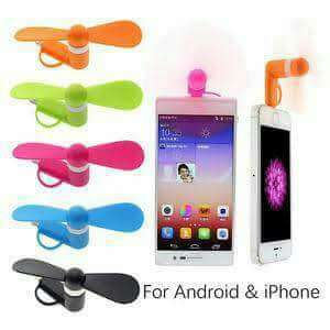 2in1 mini fan for android & my phone