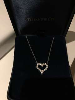 Tiffany & Co diamond heart necklace