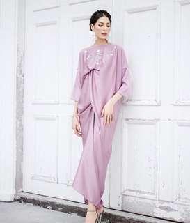 Iansham tulip drape dress