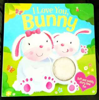 I love you Bunny book