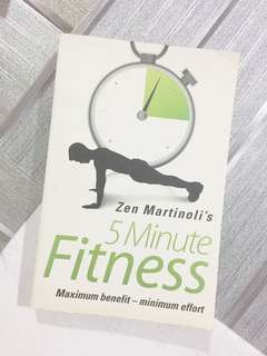 5 Minute Fitness Book by Zen Martinoli