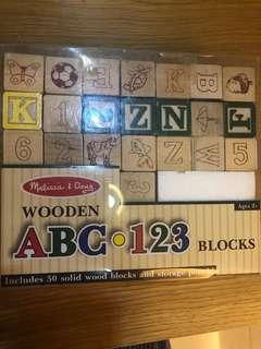 ABC wooden Block