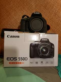 Canon 550d Body + Freebies