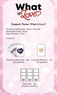 "Twice ""What is Love"" Photostrip Fanpack"