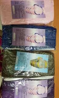 🚚 M號塑褲(紫,咖,藍,粉各一)
