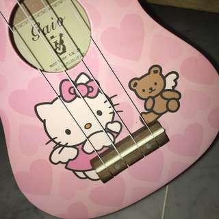 Hello Kitty ukulele