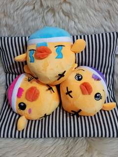 BN 3 for $8 cute chick plush
