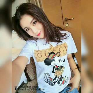 Mickey Mouse Gucci Inspired Shirt