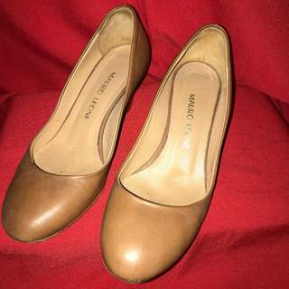 Mauro Leone Made in Italy well-loved Leather Pumps size 36