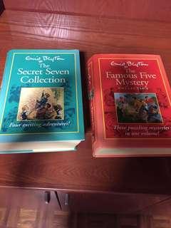Enid Blyton Books The Secret Seven / The Famous Five