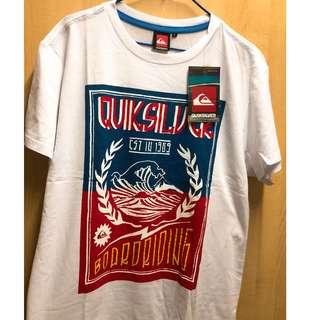 QUIKSILVER短袖T恤100%NEW
