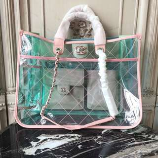 Chanel Tote Transparent