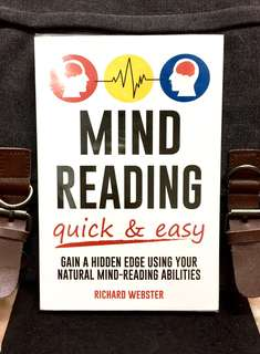 《New Book Condition + Mastering The Basic Of Mind-Reading Skills》Richard Webster - MIND READING QUICK & EASY  : Gain a Hidden Edge Using Your Natural Mind-Reading Abilities