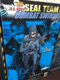 Seal team combat swimmer