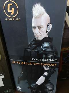 Elite ballistic support action figure