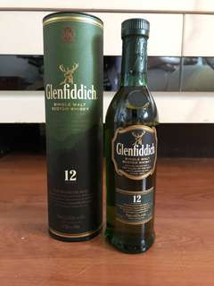Glenfiddich 200ml Whisky 12 years