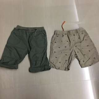 Preloved Mothercare Uniqlo Boys Shorts Bermudas 3 years up