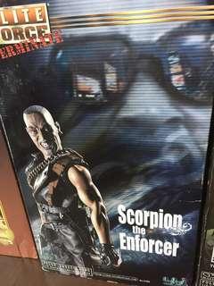 Scorpion the enforcer