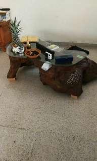 China Kung Fu tea wood