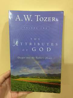 The Attributes of God VOLUME 2 by AW Tozer