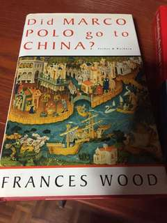 did marco polo go to china? book