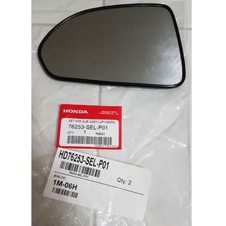 OEM left side rear view mirror replacement for Honda City '07 model